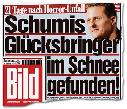 21 Tage nach Horror-Unfall - Schumis Glücksbringer im Schnee gefunden!