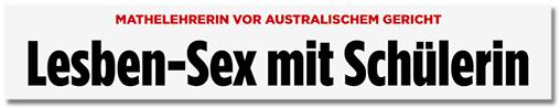 Folgend eine Collage mit elf Sex-Lehrerin-Schlagzeilen