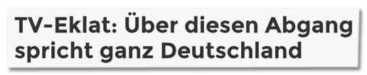 Screenshot Bunte.de - TV-Eklat: Über diesen Abgang spricht ganz Deutschland