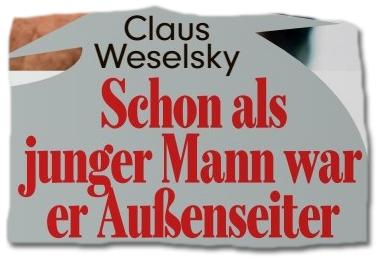 'Bild'-Schlagzeile: Claus Weselsky - Schon als junger Mann war er Außenseiter
