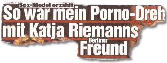Sex-Model erzählt: So war mein Porno-Dreh mit Katja Riemanns Berliner Freund