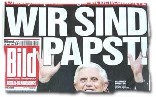"""""""Wir sind Papst!"""""""